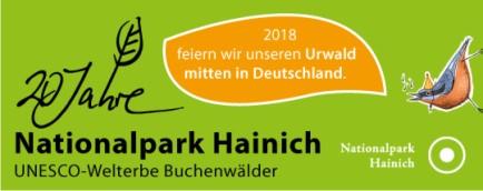 Logo 20 Jahre Nationalpark Hainich