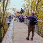 Viele Besucher im Nationalpark Hainich